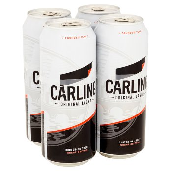 Carling Original Lager 4 x 500ml