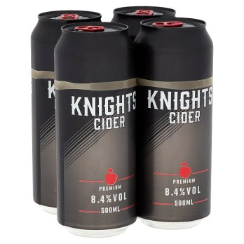 Knights Cider Premium 4 x 500ml