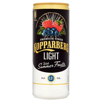 Kopparberg Light Summer Fruits 250ml