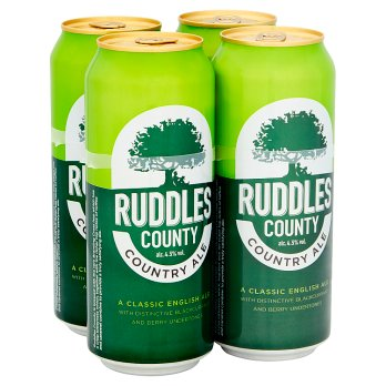 Ruddles County Country Ale 4 x 500ml
