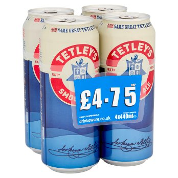 Tetley's Smooth Ale 4 x 440ml