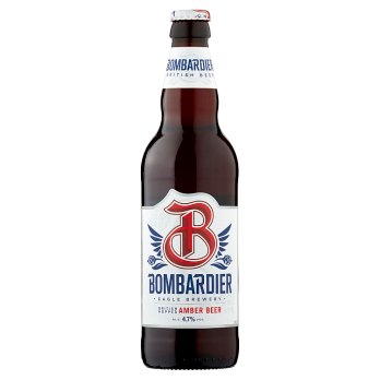 Bombardier British Hopped Amber Beer 500ml