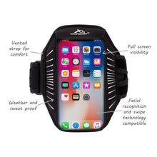 Load image into Gallery viewer, Armpocket Racer Edge full-screen, thin armband for iPhone 12/11/Xs/X/XR Galaxy S21/S20/S20+S10 Pixel 5/4 XL
