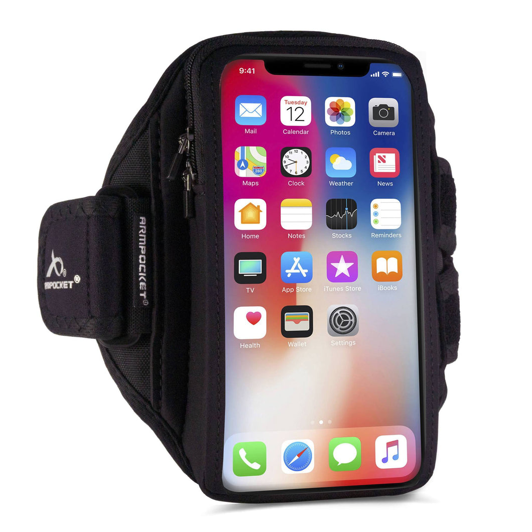 Armpocket X Plus armband for iPhone 12/11 Pro Max, XS Max Galaxy Note 20/S21/20 Ultra & large full screen devices