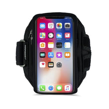 Load image into Gallery viewer, Armpocket X Plus armband for iPhone 11 Pro Max, XS Max Galaxy Note 10+, and large full screen devices