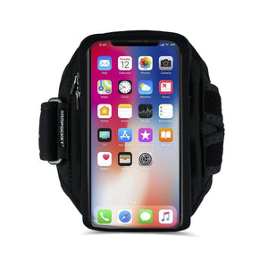 Armpocket X Plus armband for iPhone 11 Pro Max, XS Max Galaxy Note 10+, and large full screen devices