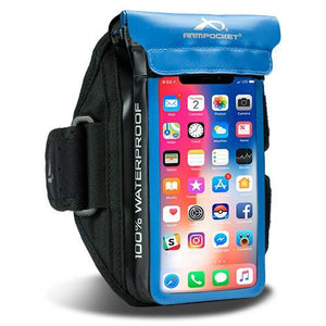 Aqua 100% Waterproof Armband for iPhone 11 Pro/X/8/7, Galaxy S7/S6 & more