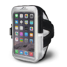 Load image into Gallery viewer, i-35 Reflective Silver Armband for Runners