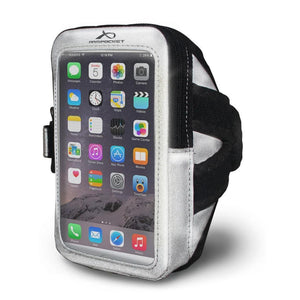 i-35 Reflective Silver Armband for Runners