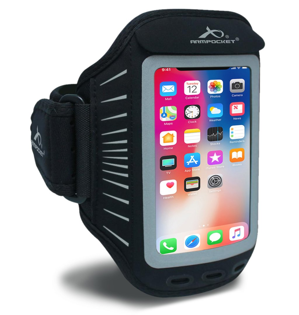 Armpocket Racer - Slim Armband for iPhone 8/7/6, Galaxy S7 and more