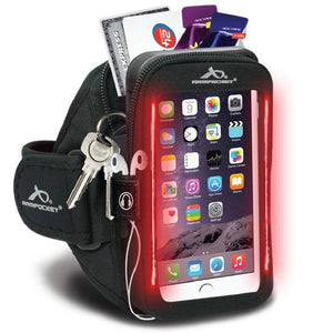 Armpocket Flash i-40 Running Phone Armband for iPhone 11/11 Pro/XS/XR/X, Galaxy Note 10, S20 & more