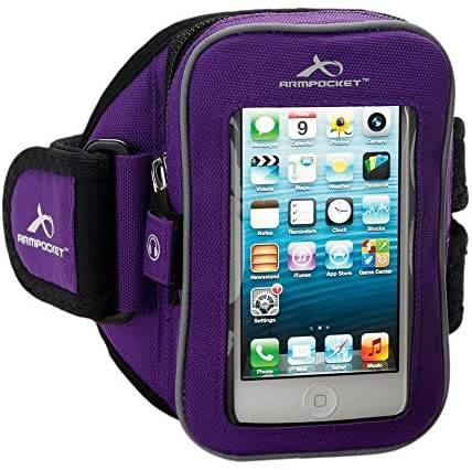 Clearance I-25 Armband Purple Medium Strap - Old Design Too Small for modern Smartphones - But Great For carrying Keys etc