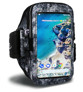 Armpocket Mega i-40 Running Phone Armband for iPhone 11/11 Pro/XS/XR/X, Galaxy Note 10, S20 & more