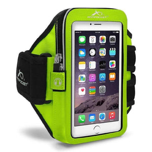 Armpocket Mega i-40 Running Phone Armband for iPhone 11/11 Pro/XS/XR/X, Galaxy Note 10, S21/S20 & more