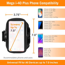 Load image into Gallery viewer, Armpocket Mega i-40 Plus Armband for iPhone 12/11 Pro Max/XS Max, 8/7/6 Plus, Galaxy Note 20 Ultra/S21/S20+