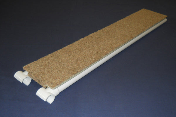 Ramp with carpet applied