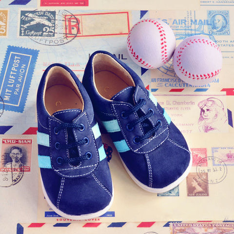 Clarys Boys Navy Trainer