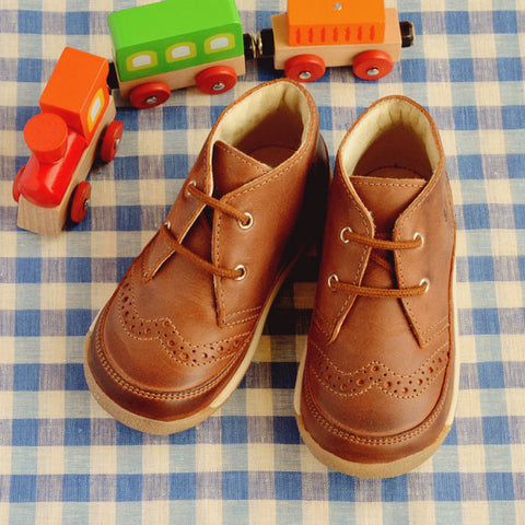 Naturino Falcotto Boys Brown Boot