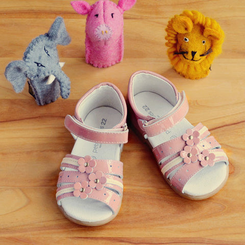 Petit Shoes Girls Pink Sandal