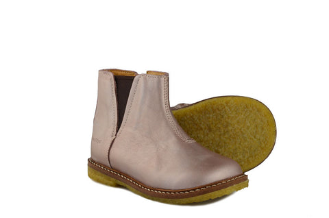 Pom d'Api Girls Blush Pink Chelsea Boot