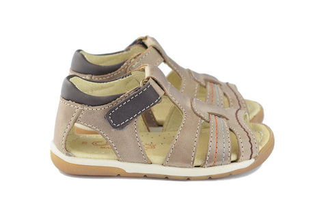 Crios Boys Brown Open Toe Sandal