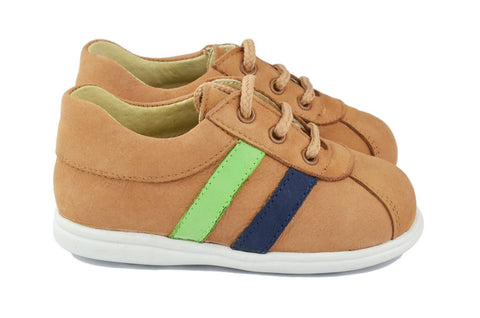 Clarys Boys Brown Trainer