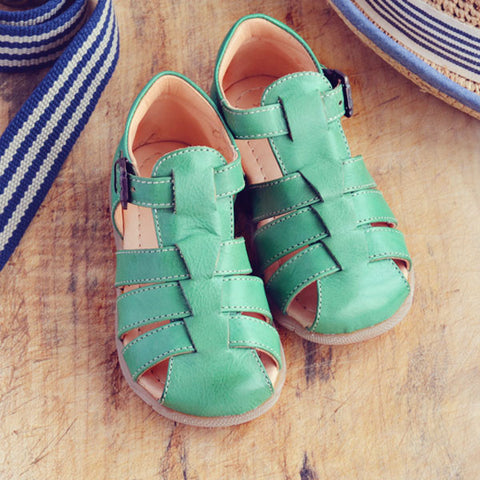 Ocra Boys Green Sandal