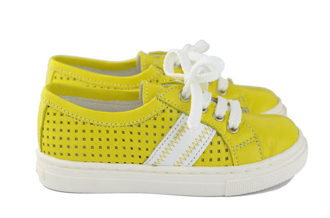 Crios Unisex Yellow Trainer