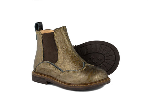 Ocra Girls Bronze Leather Boot