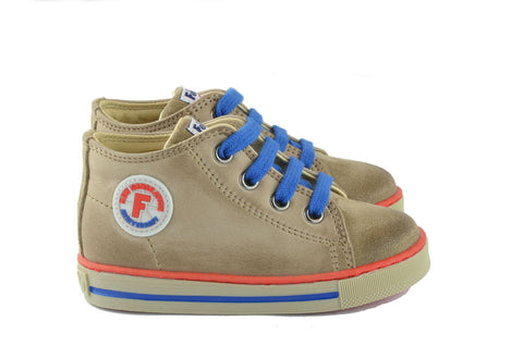 Naturino Falcotto Boys Light Brown Hightop with Laces