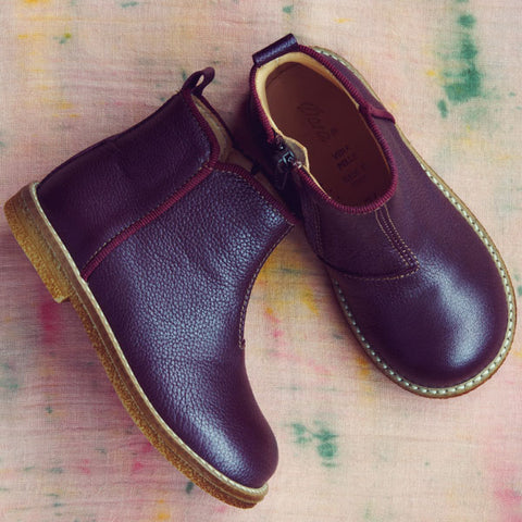 Ocra Girls Bordeax Chelsea Boot