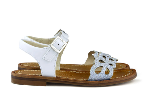 Beberlis Girls White Sandal