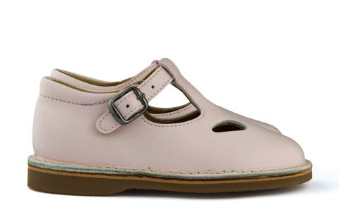 Eli1957 Girls Light Pink T-Bar