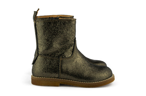 Ocra Girls Dark Golden Shimmer Boot