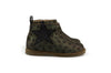 Manuela de Juan Girls Soft Shimmer Grey Boot with Stars