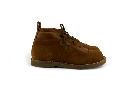 Manuela de Juan Boys Brown Suede Boot