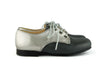 Eli1957 Girls Grey and Silver Blucher