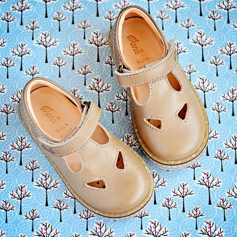 Ocra Girls Beige Shoe