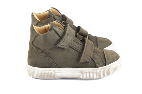 Pèpè Boys Dark Brown Nubuck Hightop