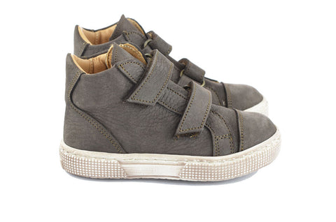 Pèpè Boys Grey Nubuck Hightop
