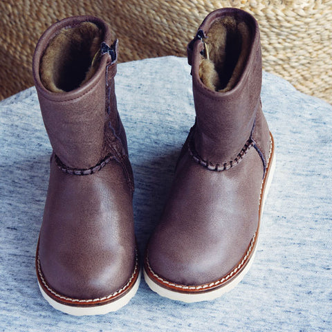 Two Con Me by Pèpè Girls Brown Boot