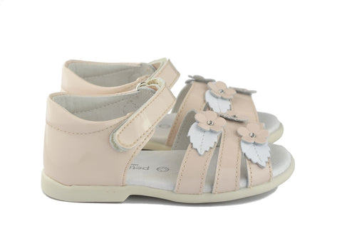 Petit Shoes Girls Beige Sandal