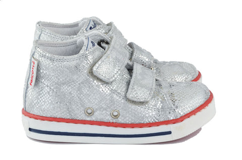Naturino Falcotto Girls Silver Hightop