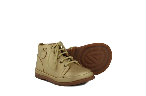 Pom d'Api Girls Gold Boot