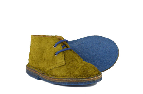 Pèpè Boys Moss Green Boot
