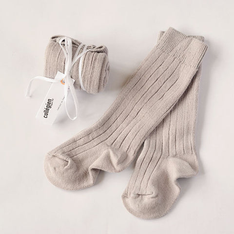 Collégien Light Grey Socks