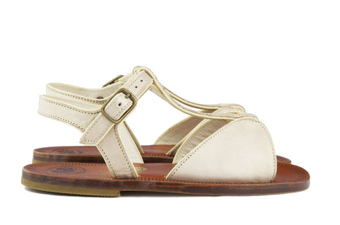 Pèpè Girls Soft Gold Sandal