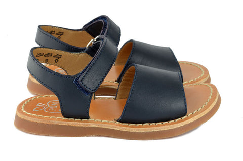 Pom d'Api Girls Navy Sandal