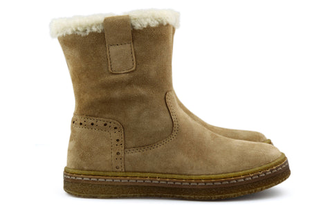 Ocra Girls Sand Boot with Wool Lining