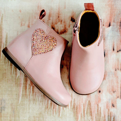 Zecchino d'Oro Girls Pink Boot with Heart